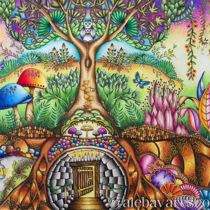My Secret Garden Johanna Basford Free Coloring Pages - Globalchin ...