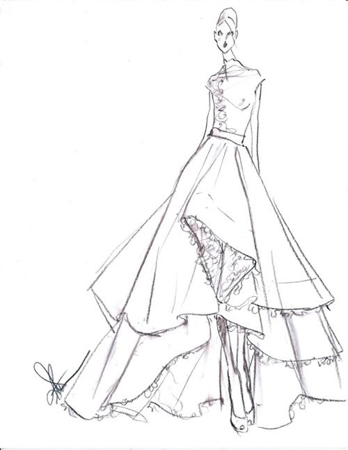1000 Images About Fashion Sketches