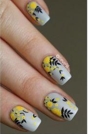 ideas grey nail