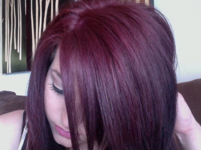 Hair Color Red Violet I Might Want To Try Adding A