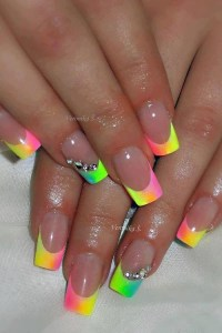 25+ best ideas about Neon nails on Pinterest | Awesome ...