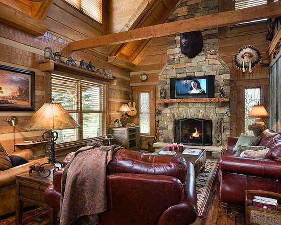 355 Best Images About Log Cabin Decor On Pinterest Log Cabin