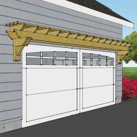 25+ best ideas about Garage pergola on Pinterest   Garage ...