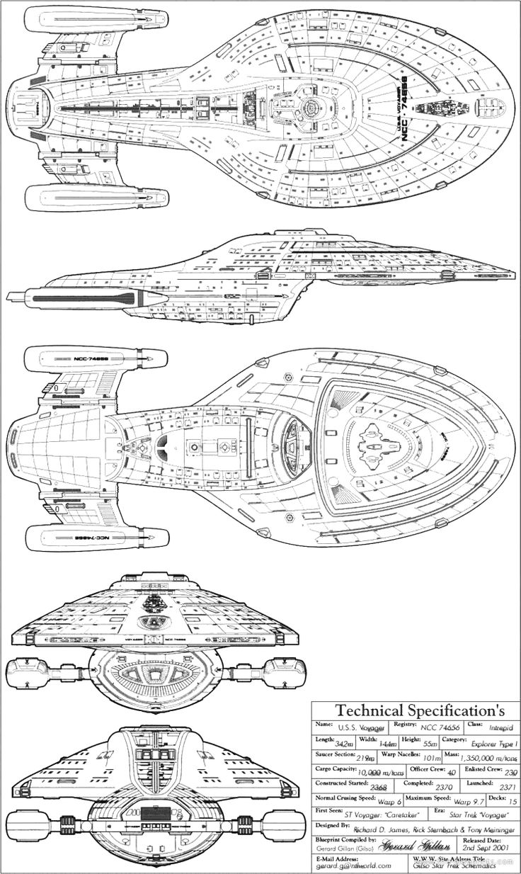 1000+ images about star trek ships on Pinterest