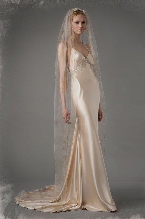 17 Best ideas about Slip Wedding Dress on Pinterest  Boho beach wedding dress Slit wedding