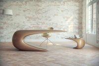 Futuristic Desk for a Sci-Fi Inspired Office | Structure ...
