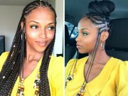ideas goddess braids