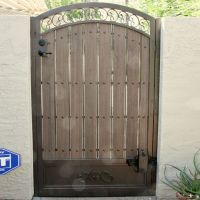 17 Best images about Wrought iron door, gates on Pinterest