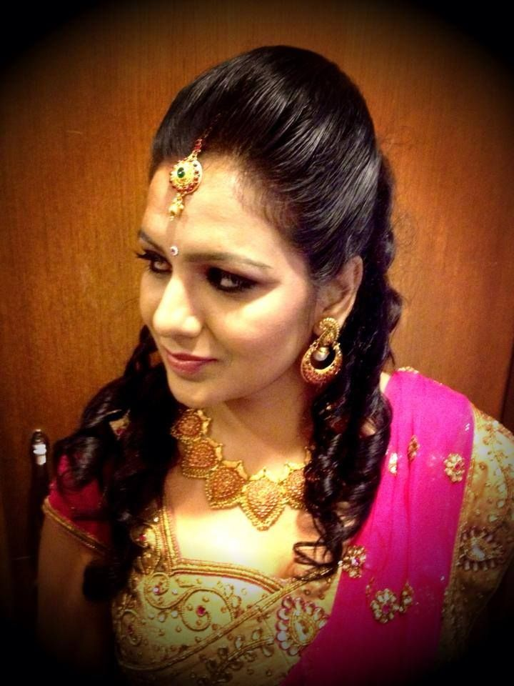 Hairstyles For Indian Wedding Reception