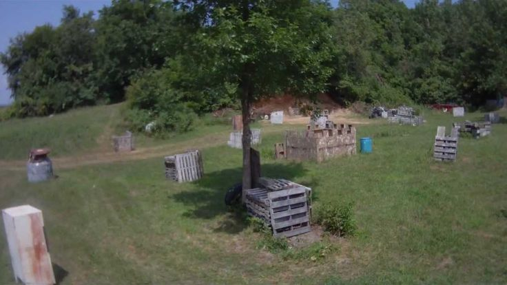 My Next Big Project A Backyard Paintball Course For The
