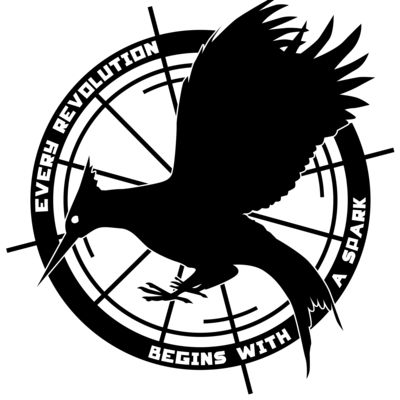 Catching Fire Symbol Black And White