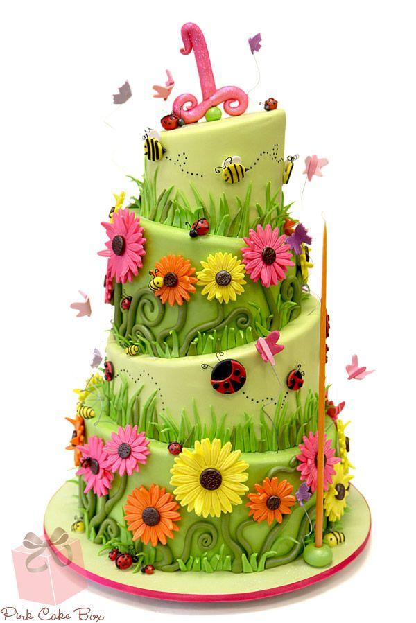 25 Best Ideas About Garden Theme Cake On Pinterest Garden