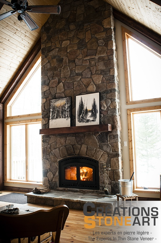 Stone Fireplace Surrounds Ideas Fireplace Done With Tudor Old Country Fieldstone From