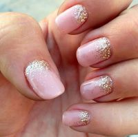 25+ Best Ideas about Glitter Fade Nails on Pinterest