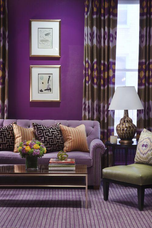 293 best images about Purple Interiors...Plum, Lavender