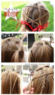 ideas star hair