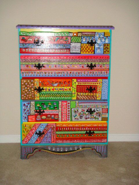 17 Best Images About Funky Painted Furniture On Pinterest