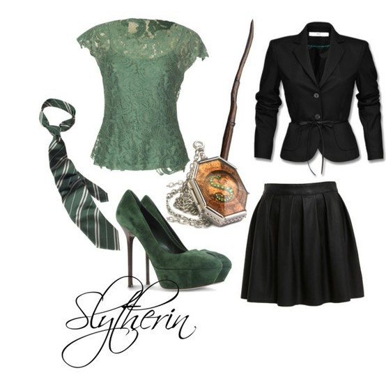 78 Images About Slytherin On Pinterest Hogwarts Outfit