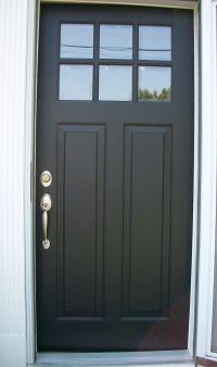 25+ best ideas about Black Exterior Doors on Pinterest ...