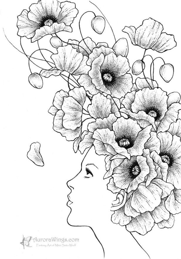 17 Best images about coloring for adults on Pinterest