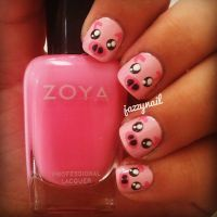 Best 25+ Pig Nails ideas on Pinterest | Pig nail art, Nail ...