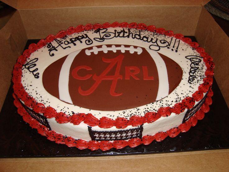 Alabama Football Chandra S Piece Of Cake Pinterest