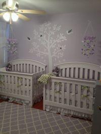 Twin girl nurseries, Twin girls and Twin on Pinterest