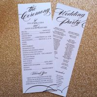 1000+ ideas about Elegant Wedding Programs on Pinterest ...