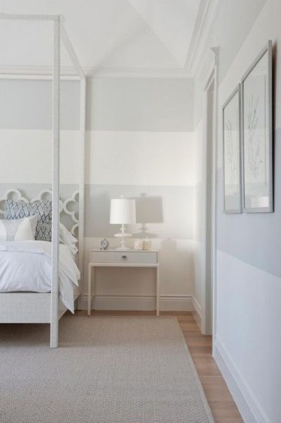 white walls grey ceiling bedroom 25+ best ideas about Grey Striped Walls on Pinterest