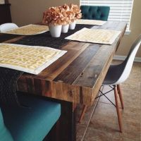 Best 20+ Reclaimed Wood Dining Table ideas on Pinterest ...