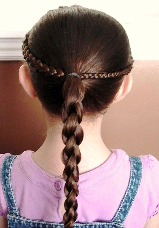 68 Best Images About Little Girl Hairstyles On Pinterest Kid
