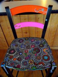 Hand painted funky chairs to order | Painted chairs ...