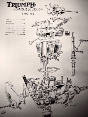 17 Best images about Motorcycle Engine Exploded View