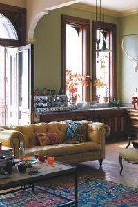 Anthropologie home decor - boho, eclectic, living room ...