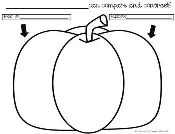 Thanksgiving Graphic Organizers for Nonfiction Reading