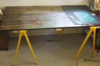 1000+ images about Saw horse tables on Pinterest | Saw ...