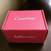 Thank you @influenster for sending me this #Carefree Liners for testing! #FreshIsFierce #Influenster