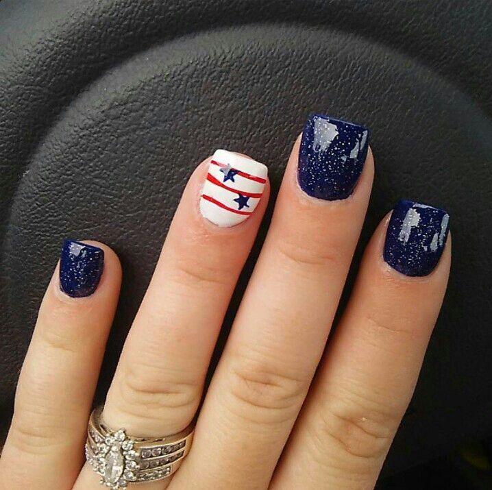 517 best 4th of July nail art images on Pinterest