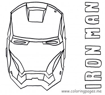 Iron man, Coloring pages and Coloring on Pinterest