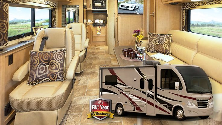 New Thor Axis-Vegas 24.2 & Outlaw 38RE Motorhomes: Quick
