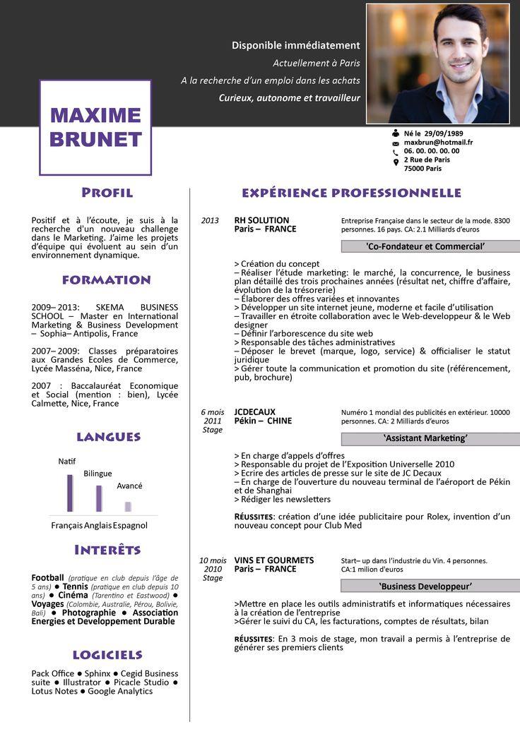 downloadable resume templates pinterest