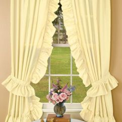 Priscilla Curtains Living Room Bright Curtains, Lace And Cotton On Pinterest