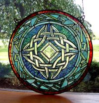 25+ Best Ideas about Celtic Stained Glass on Pinterest