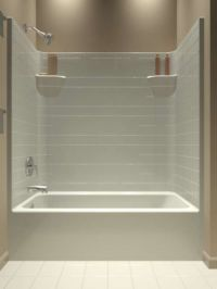 25+ best ideas about One piece tub shower on Pinterest