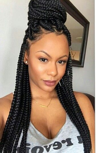 25 Best Ideas About Black Hair Braids On Pinterest Black Braids