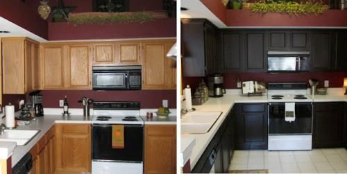cabinet transformation  Home Ideas  Pinterest  Cabinet