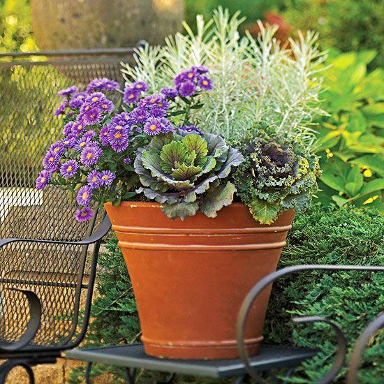 25 Best Ideas About Fall Flower Pots On Pinterest Fall