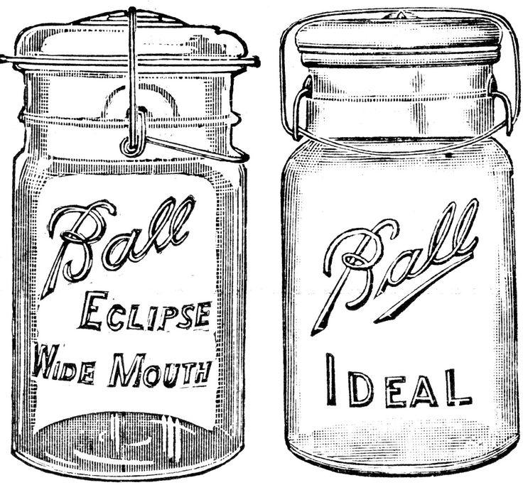 17 Best ideas about Vintage Mason Jars on Pinterest