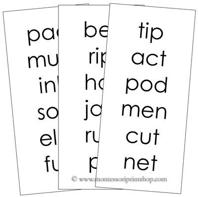 16 best images about Montessori Step 1 Language Series on