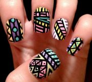 easy hipster nail design - google